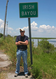 Dan Barry at Irish Bayou
