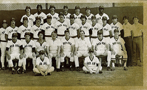1981 Pawtucket Red Sox team picture