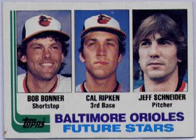 Baltimore Orioles Future Stars card 1982
